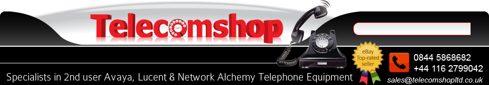 Specialists in 2nd user Avaya, Lucent & Network Alchemy Telephone Equipment!